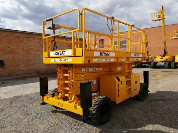 Alquiler de plataformas tijera diesel Tarragona